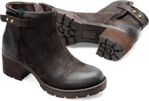 Born Nisbet in Cafe Distressed - Born Womens Boots on Bornshoes.com