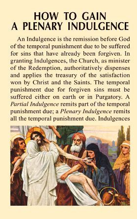 From our Lady's Warrior Org - see a convenient compilation of all the ways to obtain a plenary indulgence. Only one plenary indulgence can be gained each day for one soul in purgatory or for ourselves