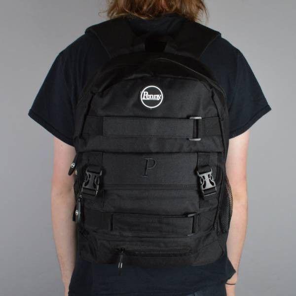 penny black skateboarder backpacks