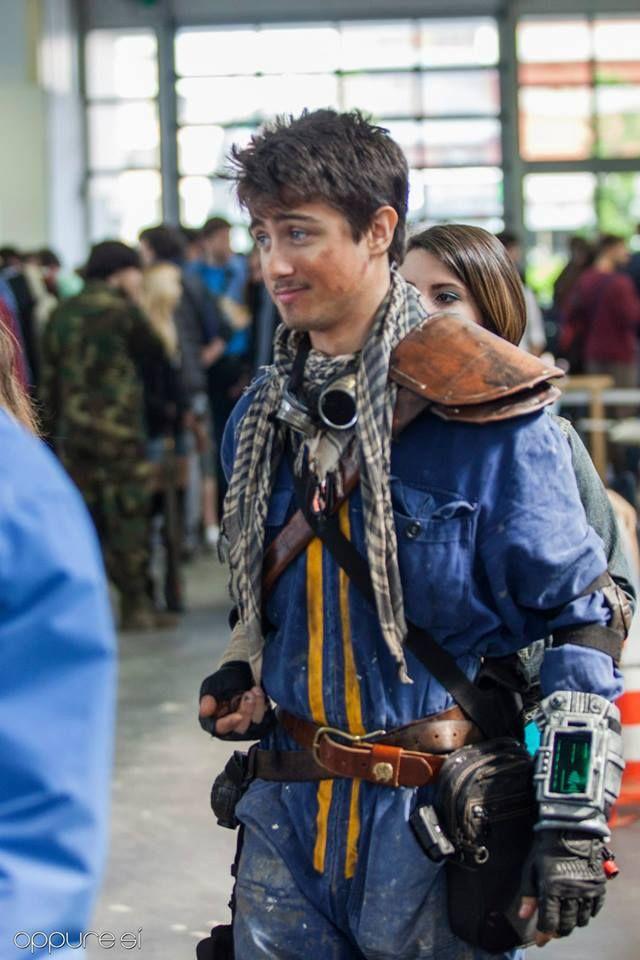 Fallout Jumpsuit Costume Kid