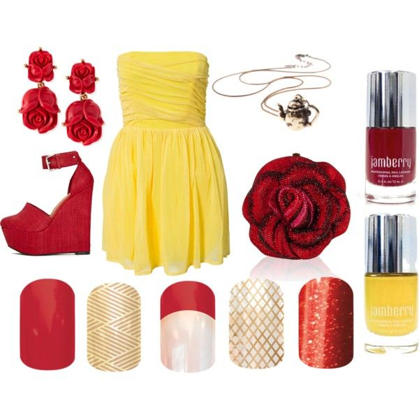 Princess Belle Jamberry Style - Polyvore