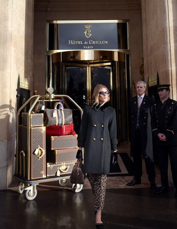 Hotel de Crillon of Paris with Dree Hemingway and the Louis Vuitton
