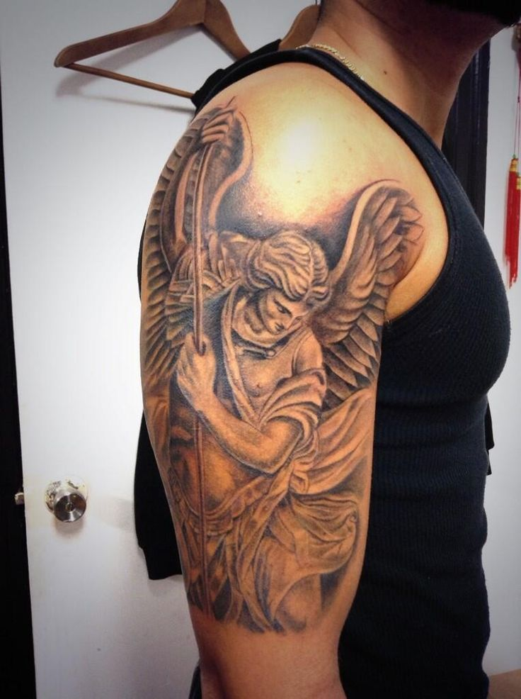 tatuagem de São Miguel 3