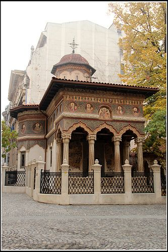 Stavropoleos Church, Bucharest, Romania
