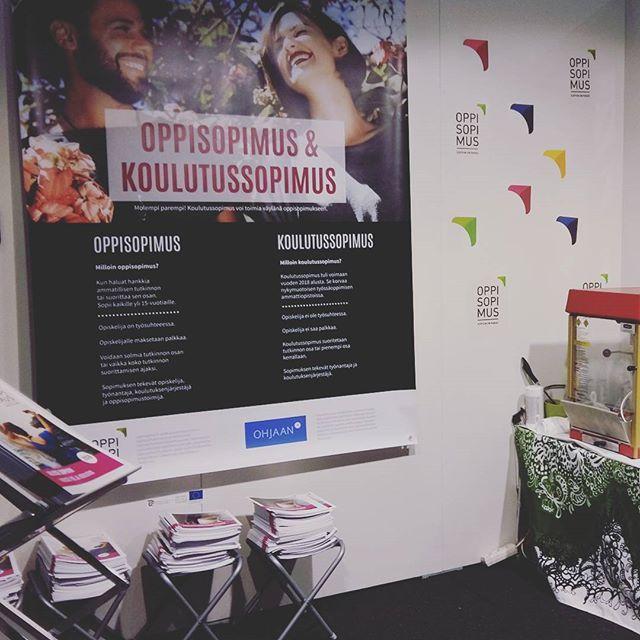 Tervetuloa perjantaina ja lauantaina Educaan Helsingin Messukeskukseen. Meidät löytää ständiltä 6g89. #educa2018