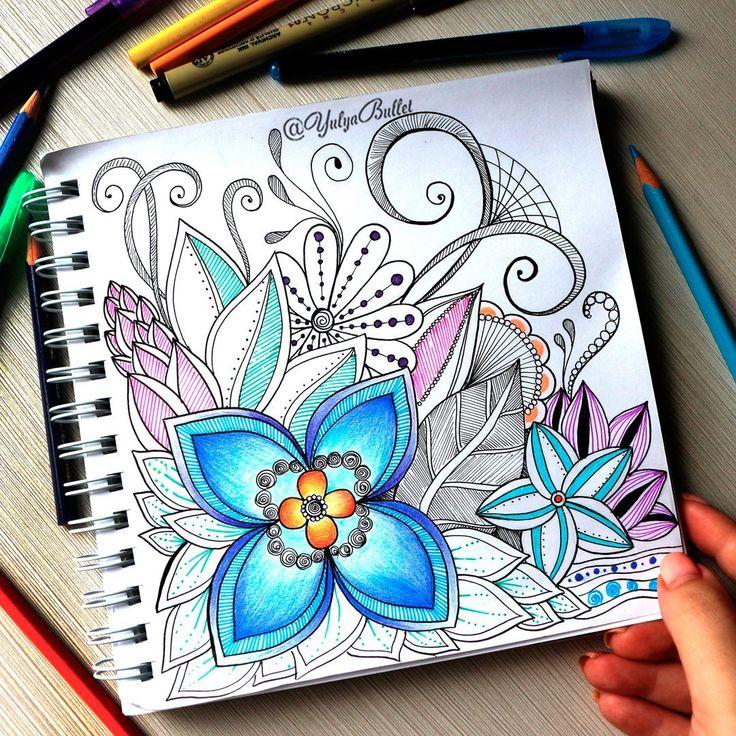 Doodling | Doodles | Floral | hand drawing | Inspiration | Drawings | Easy | Zentangles | Doodle | Simple | Notebook | Ideas | Journal | Challenge | Art | Pattern | Sharpie | Illustration | Designs | Creative | Pen