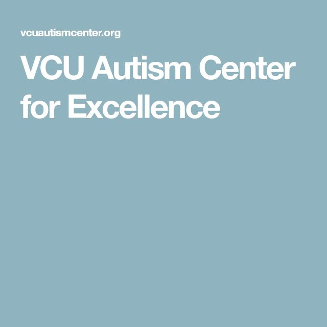 VCU Autism Center for Excellence