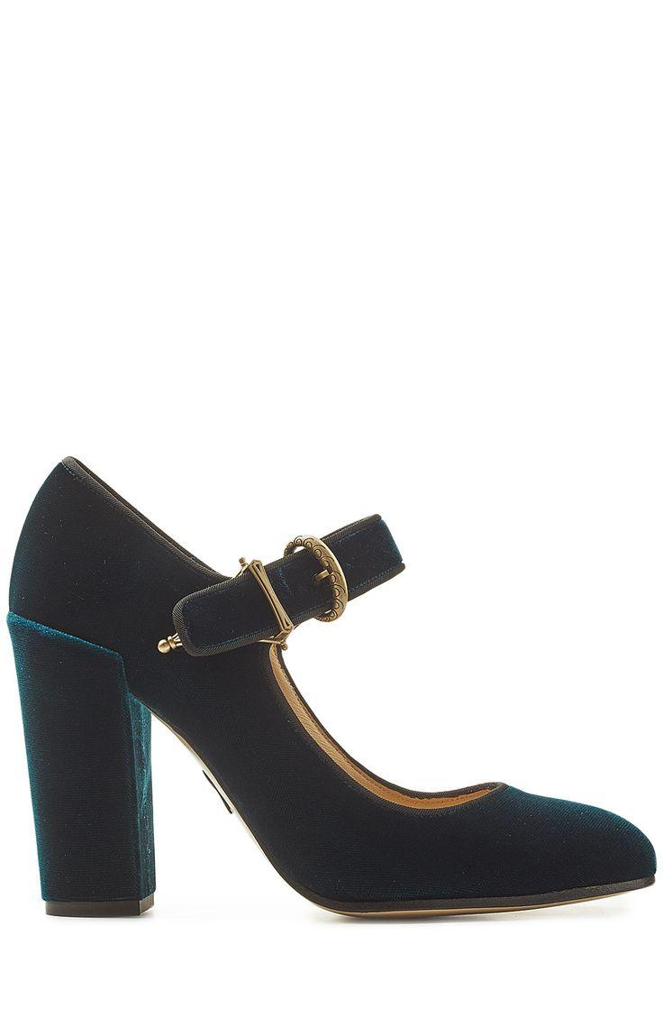 PAUL ANDREW Velvet Pumps. #paulandrew #shoes #pumps