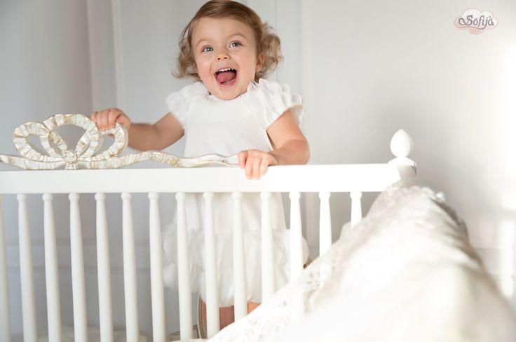 Bogato zdobiona sukienka Liliana   #sofija #bawełna #antyalergiczne #ubranka #dziecko #kids #baby #kidsfashion #kinder #kindermode #ребенок #мода #enfant #mode #producer