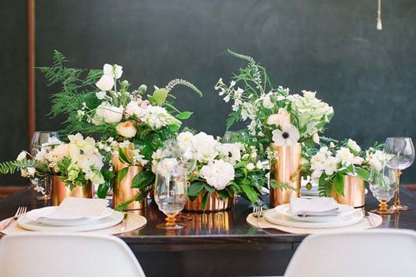18 Copper Decor Ideas for Your Wedding Day