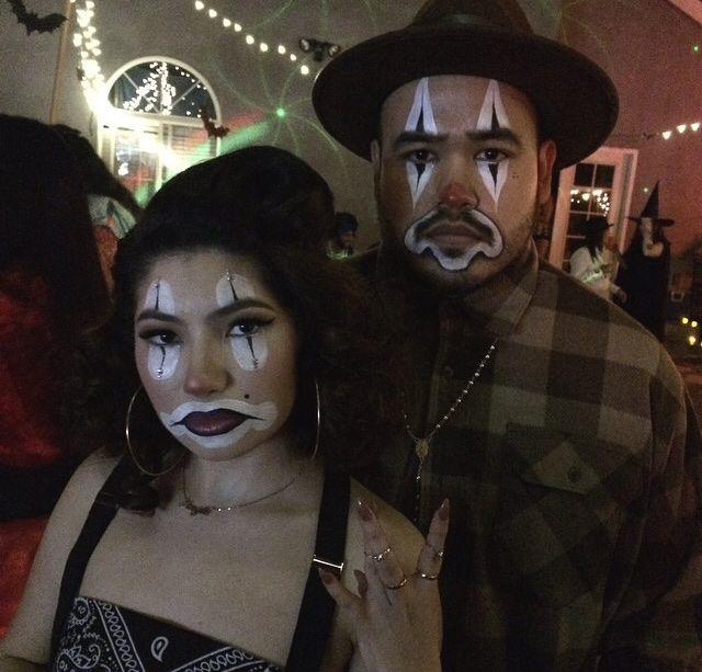 Cholo Clown Makeup Looks