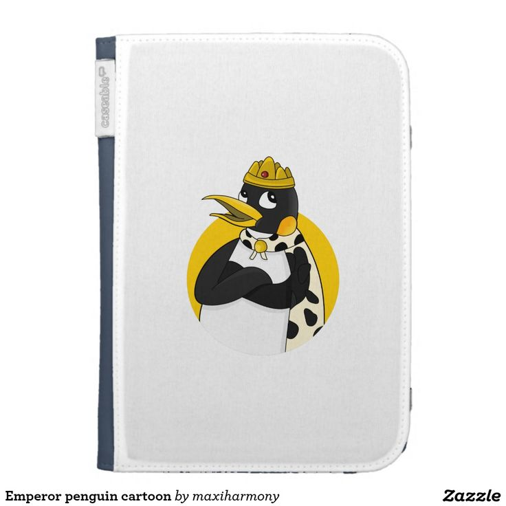 Emperor penguin cartoon kindle 3 cover