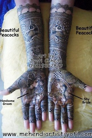 Jyoti Chheda Bridal Mehendi Artist Info & Review | Mehendi in Delhi NCR | Wedmegood