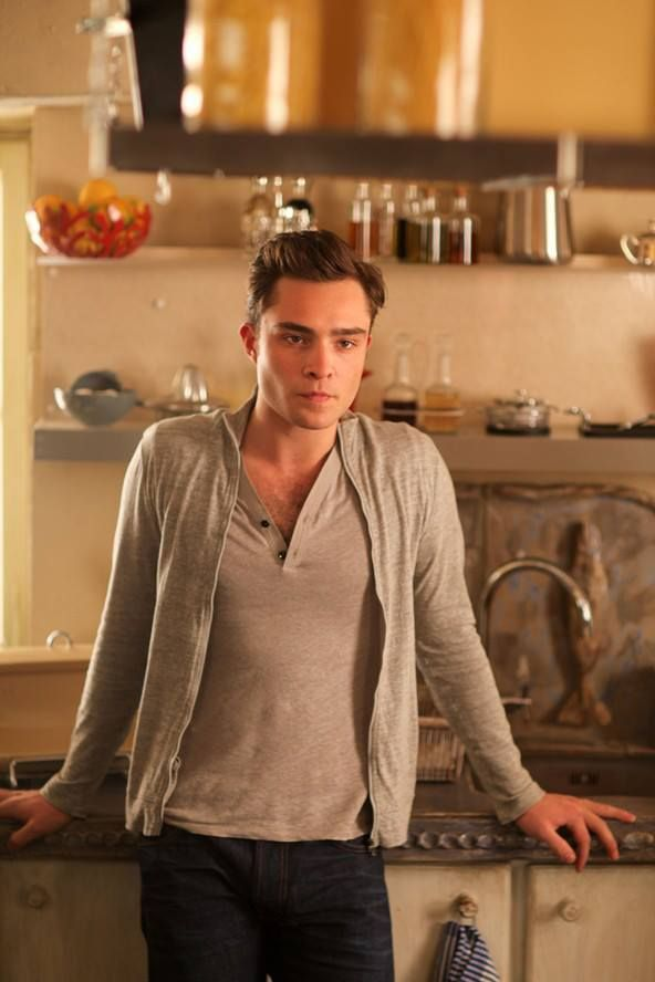 Ed westwick from movie chalet girl