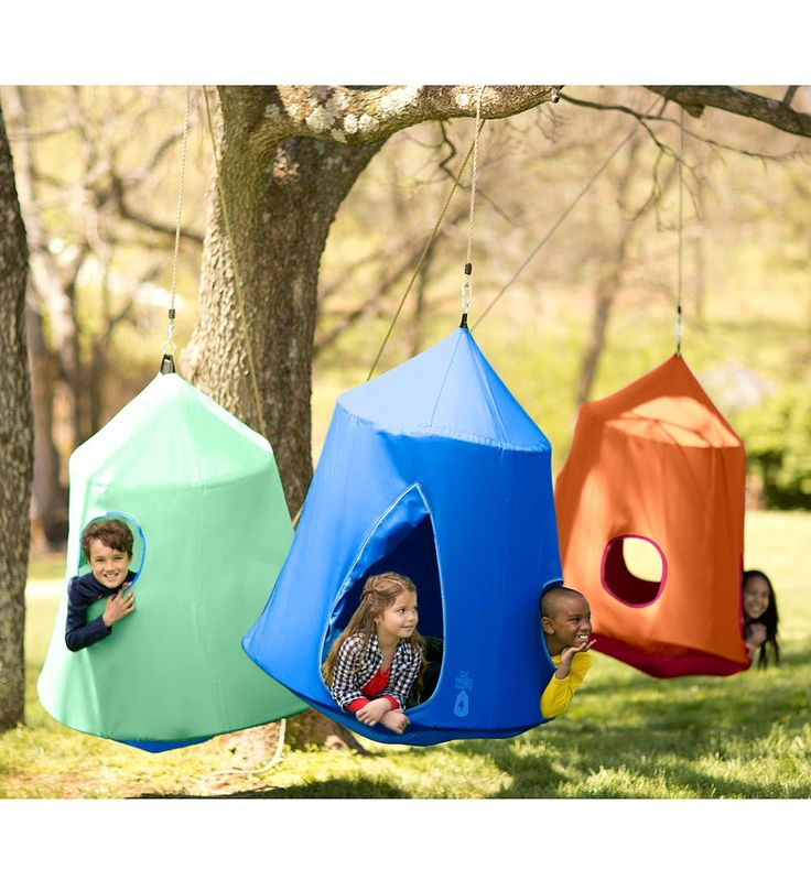 Go! HangOut HugglePods. Playhouses you can hang indoors or out! Kids love having their own special space to relax, read and escape.