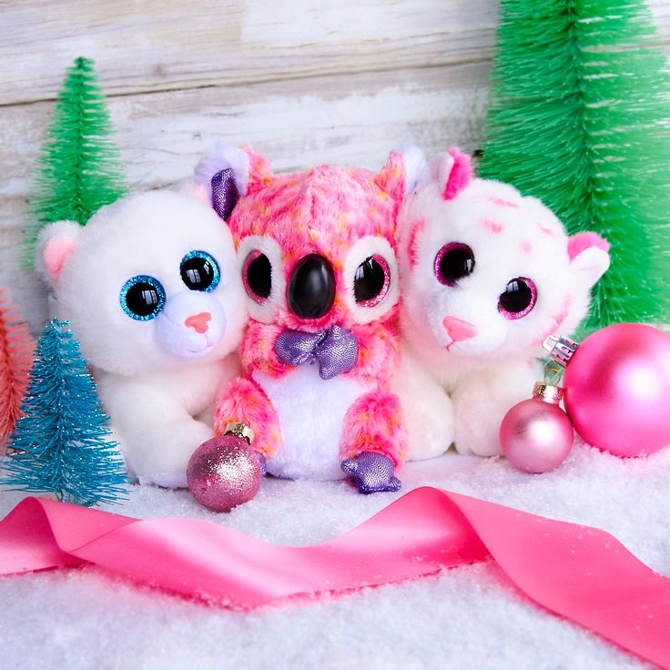 These adorable Ty Beanie Boos are waiting for their forever home with you.