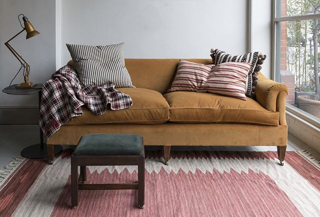 Newin The Howewindow Today Our Most Comfortable Traditionally Madebyhowe Den Sofa Down Filled Cushions And Individual Tie Sofa Daybed Sofa Living Room Style