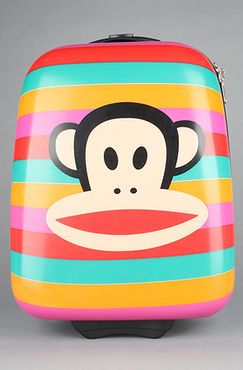 The Big Face Luggage bag by Paul Frank - $72