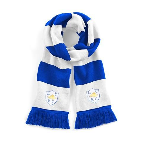 Leicester City Traditional Football Scarf Embroidered Logo
