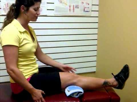 Isometric Contractions for the Knee - YouTube