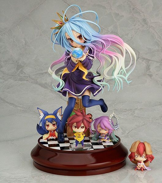 Shiro de No Game No Life s'offre une figurine chez Phat Company, 09 Juillet 2015 - Manga news
