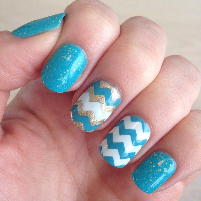 216 best images about nails chevron design on pinterest