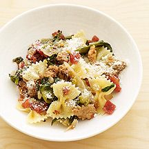 Image of Bowtie Pasta with Sausage and Escarole