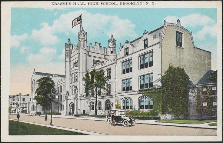 Erasmus Hall, High School, Brooklyn, N.Y.