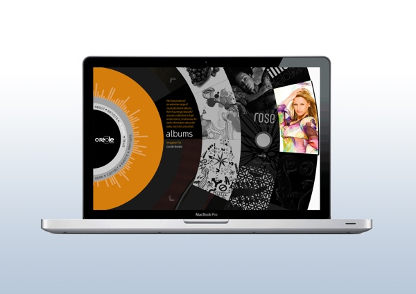 Web and Graphic Design - Oreole Records - 8479