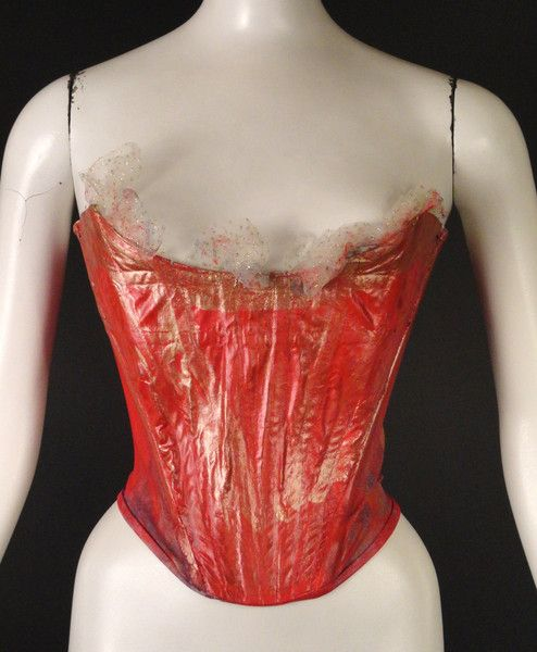 VIVIENNE WESTWOOD-Hand Painted, 18th Century Corset