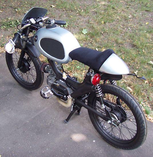 Cafe Racer Moto Cross
