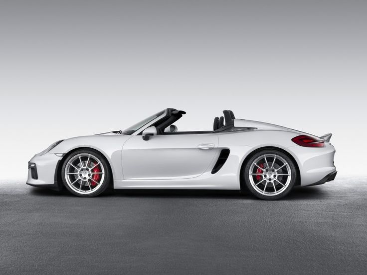 The 2016 Porsche Boxster Spyder is the lightest Boxster yet