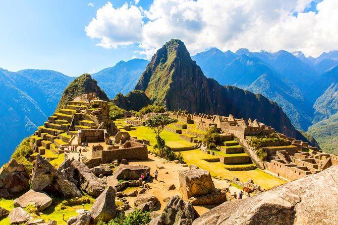 Чудо света. Мачу-Пикчу в Перу.