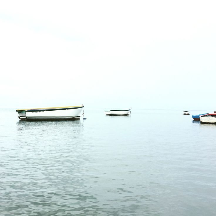 Sun is missing... #boat #sea #mauritius #island