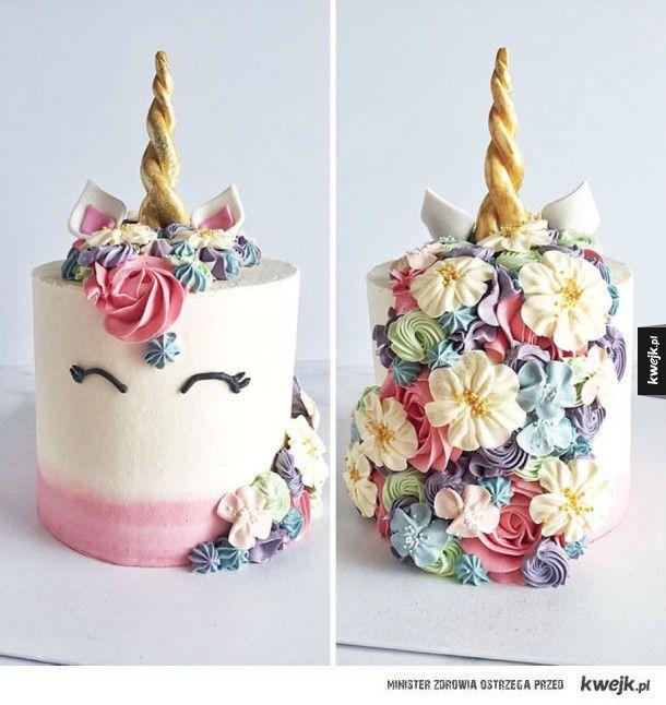 Kwitnące ciasta - tak piękne, że aż szkoda je zjadać