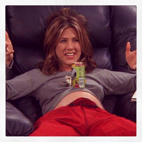 Jennifer Aniston Pregnant On Friends 11