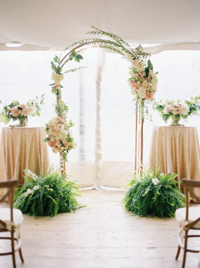 Indoor Wedding Stage Decoration Ideas Best About Arches On