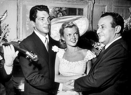 Dean Martin & bride Jeanne on their wedding day (held at Herman Hover's House) September 1, 1949.