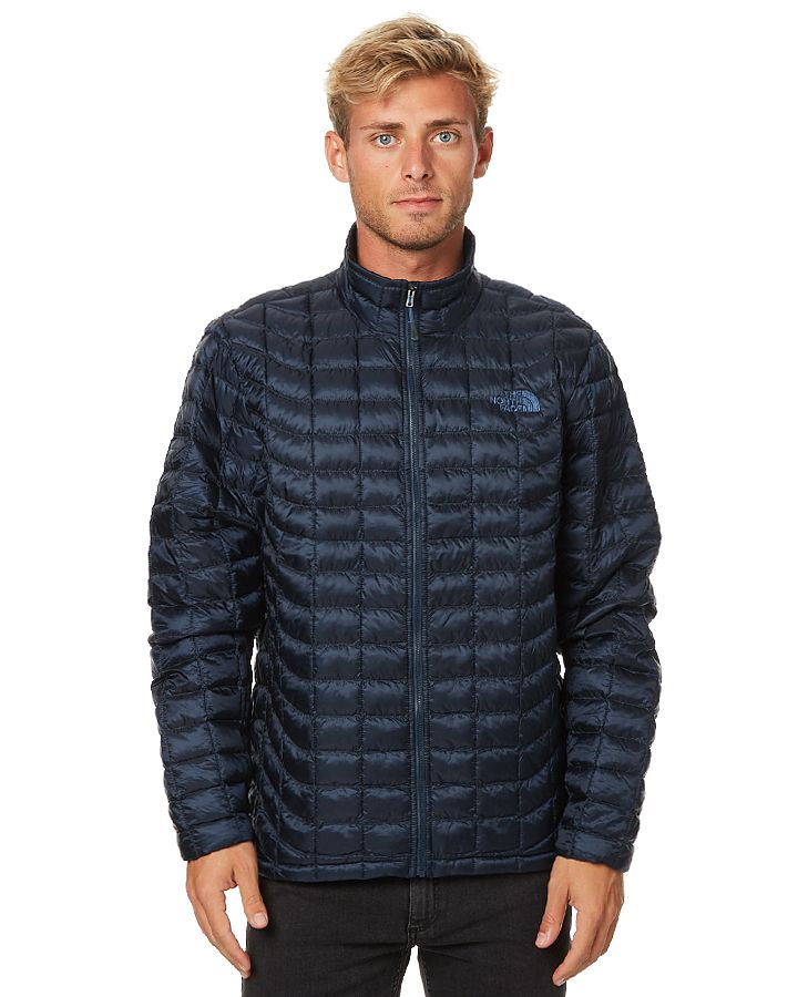 The North Face Thermoball Full Zip Mens Jacket Blue
