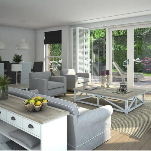 Interieurstyling livingroom modern landelijk