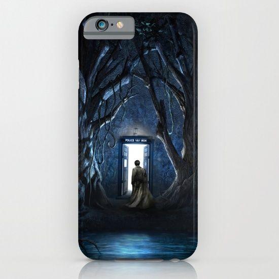 Doors Of Tardis iPhone & iPod Case