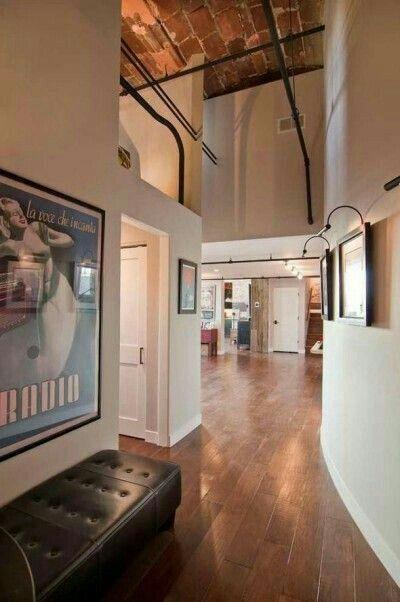 Ateliers loft einrichtung loft stil architektur innenarchitektur mezzanin innenräume hohen decken rohre orte