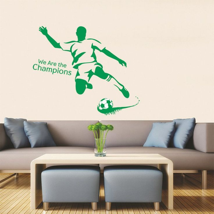 25 best ideas about chambre football pour gar on sur pinterest chamber de football chambres - Idee deco slaapkamer tiener jongen ...