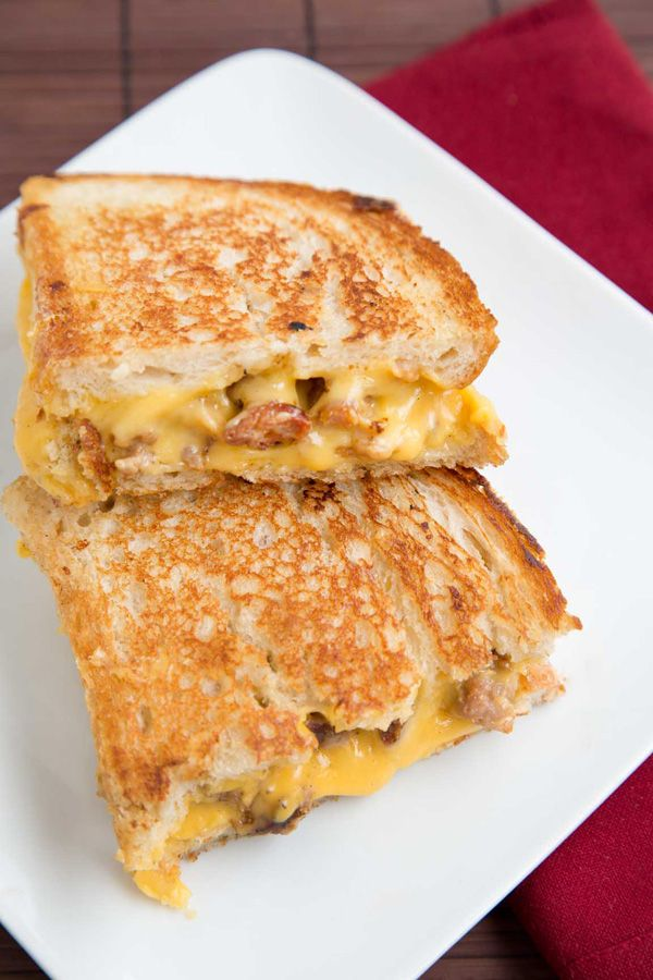 Grilled Sweet Sausage - Grilled Cheese Sandwich A Culinary Journey with Chef Dennis