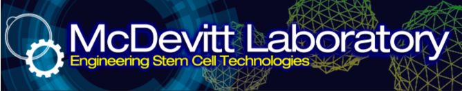 Welcome to the McDevitt Lab at the Gladstone Institutes! Since stem cells are promising for a number of applications, our lab focuses on the development of technology platforms to advance therapies that span multiple diseases including cardiovascular, orthopedic and neurological disorders.