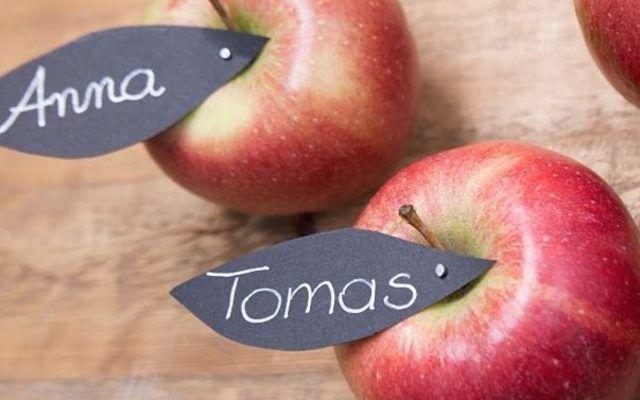Tutoriel DIY: Faire des porte-noms de table avec des pommes via DaWanda.com