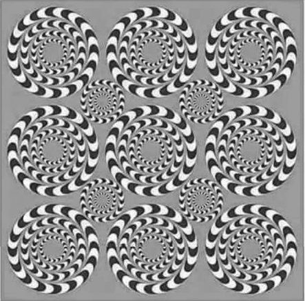 Si mueves tus ojos, mueves la imagen.