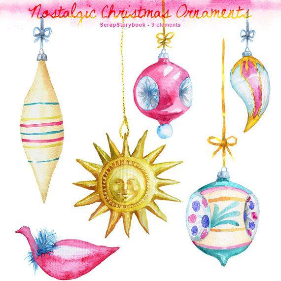 Nostalgic Christmas Decorations: Nostalgic Christmas Ornaments