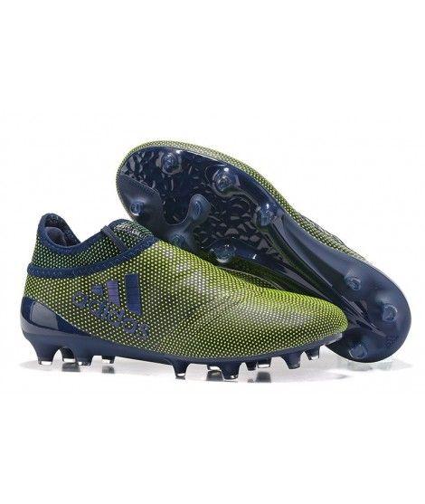 4fa2e5ae2 adidas youth f10 trx fg soccer cleats green zest with dark blue. adidas x  17 purechaos fg pevnÝ povrch kopačky Černá Žlutý