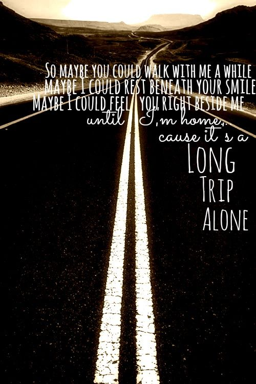 Long Trip Alone - Dierks Bentley